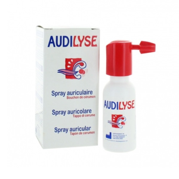 Audilyse tratamiento tapon cerumen spray