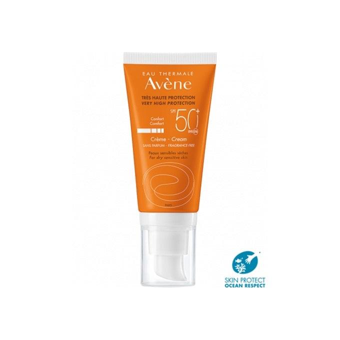 Avene Crema Solar Piel Seca Sin Perfume Spf50+ 50ml