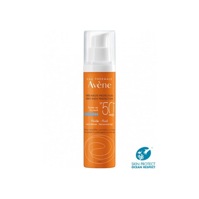 Avene Fluido Solar Sin Perfume Spf50+  50 ml