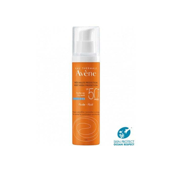 Avene Fluido Solar Con Perfume Spf50+ 50 ml