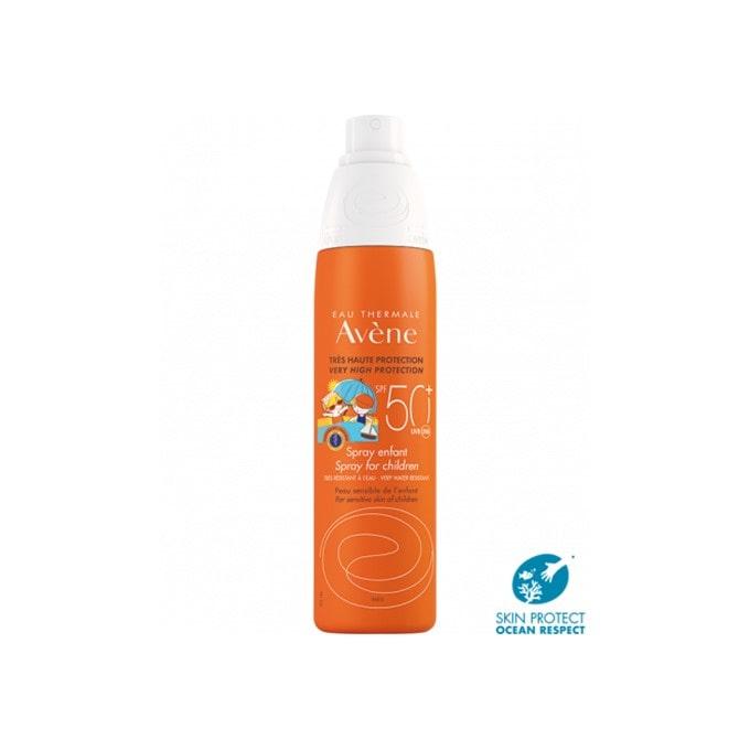 Avene Spray Solar Niños Spf50+ 200 ml