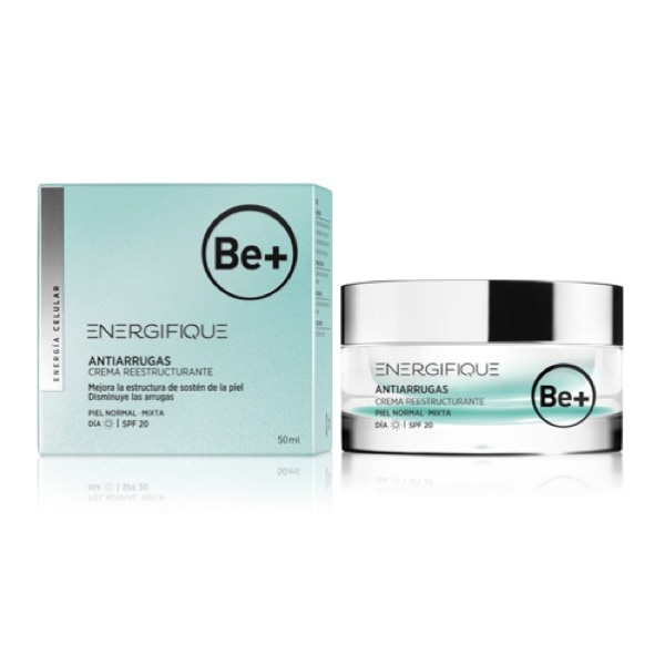Be+ energifique crema piel normal/mixta 50 ml spf20