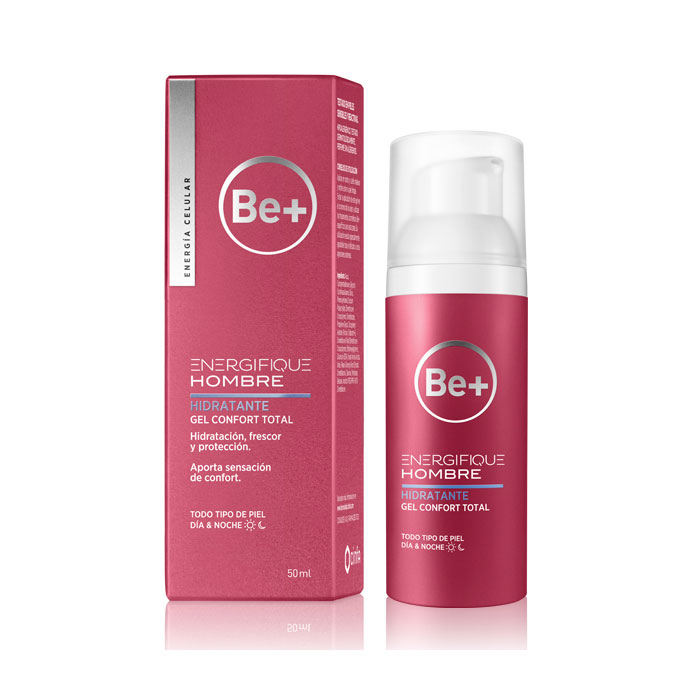 Be+ Energifique Hombre Hidratante Gel Confort Total 50ml