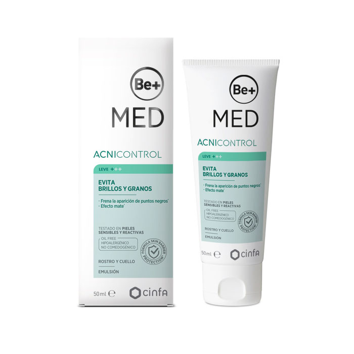 Be+ Med Acnicontrol Evita Brillos y Granos 50ml