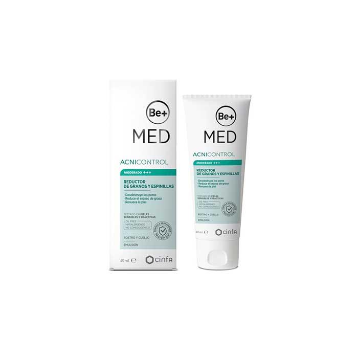 Be+ Med Acnicontrol Reductor de Granos y Espinillas 40ml