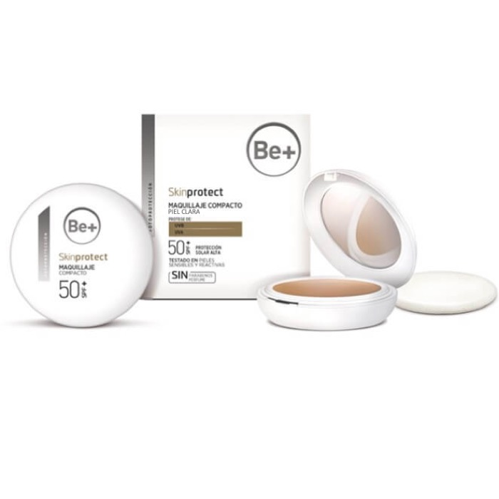 Be+ Skin Protect Maquillaje Compacto piel clara spf50+ 10 g