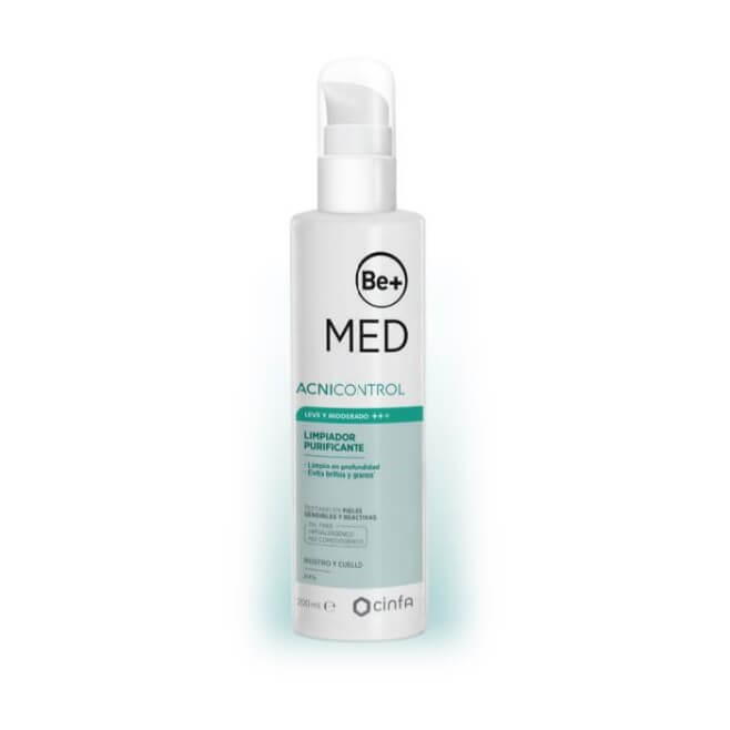 Be+ Med Acnicontrol Limpiador Purificante 200ml