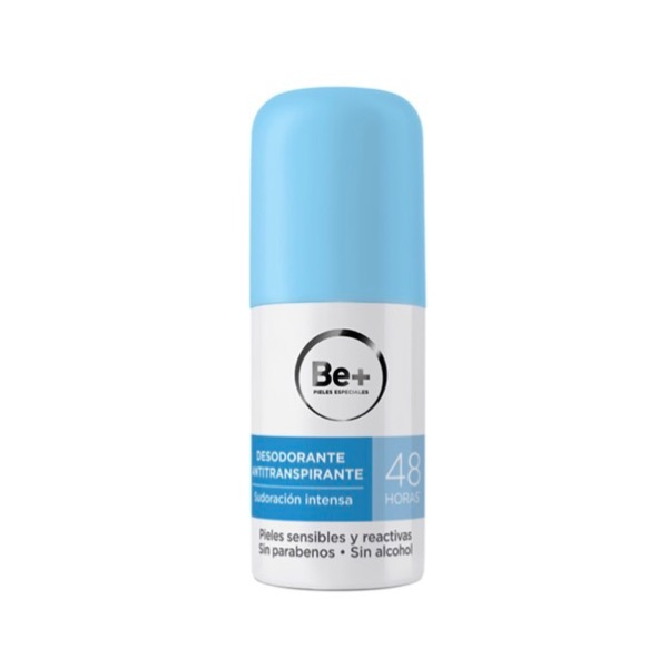 Be+ desodorante antitranspirante 48h
