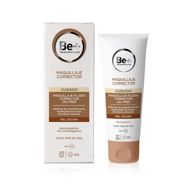 Be+ Maquillaje Fluido Oil-Free Piel Oscura 40ml