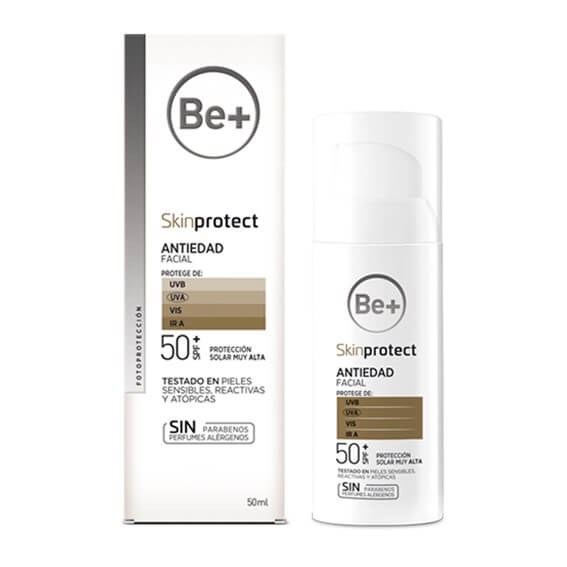 Be+ Skin Protect Fluido Antiedad SPF50+ 50ml