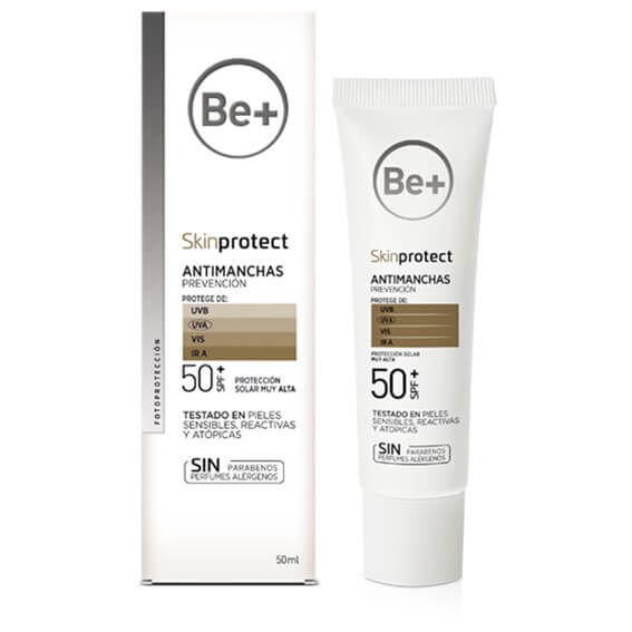 Be+ Skin Protect Fluido Antimanchas Prevencion SPF50+ 50ml