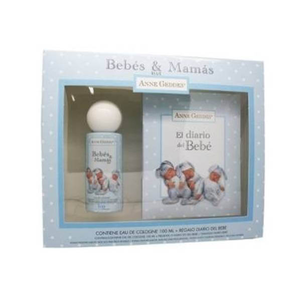 Bebes & Mamas Agua de colonia Anne Geddes azul 100ml + Regalo diario del bebe