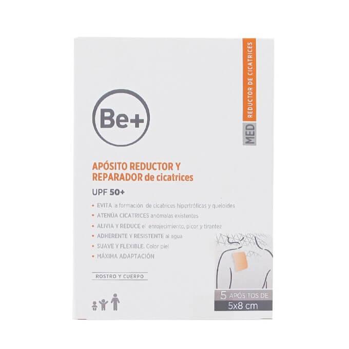 Be+ Aposito Reductor Reparador Cicatrices 5x8cm 5 uds
