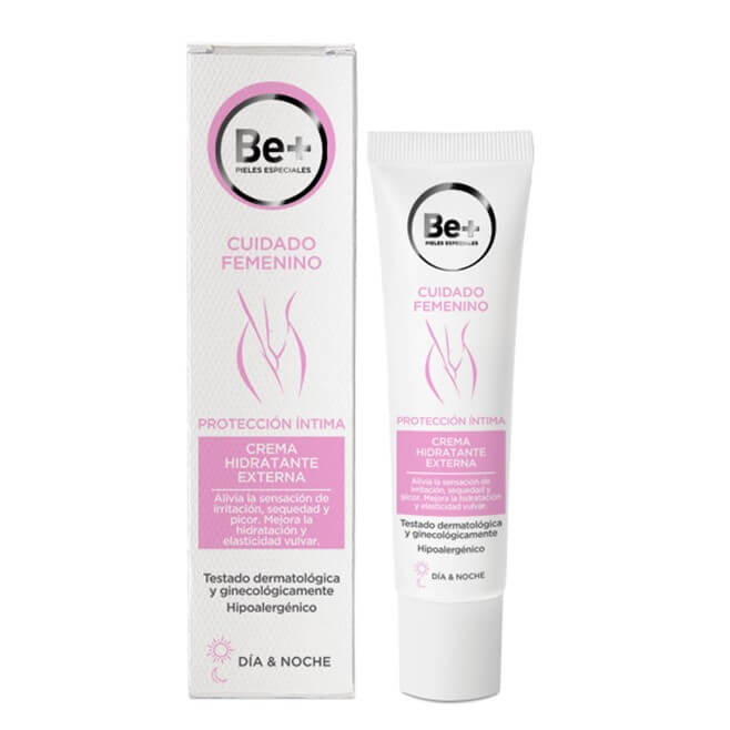 Be+ Crema Hidratante Intima Externa 30ml