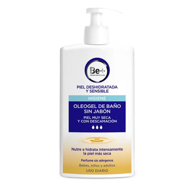 Be+ Oleogel de Baño Sin Jabon 400ml