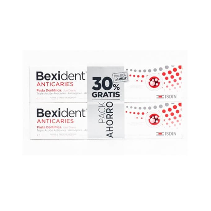 Bexident Anticaries Pasta Duplo 125ml + 125ml