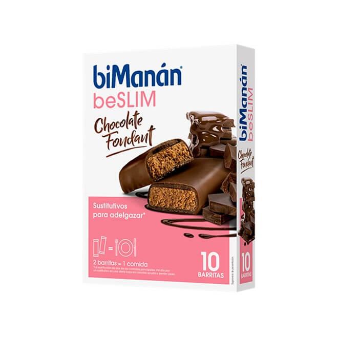 Bimanan Barrita Beslim Chocolate Negro Fondant 10 Uds