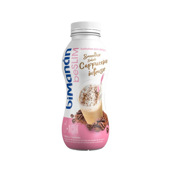 Bimanan Beslim Sustitutive Batido Smoothie Sabor Cappuccino Intenso 330ml