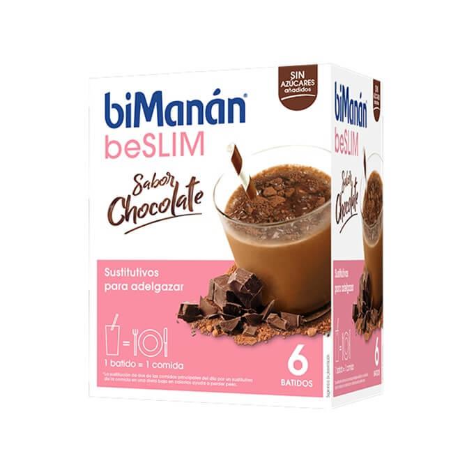 Bimanan Batido BeSlim Sabor Chocolate 6 Sobres
