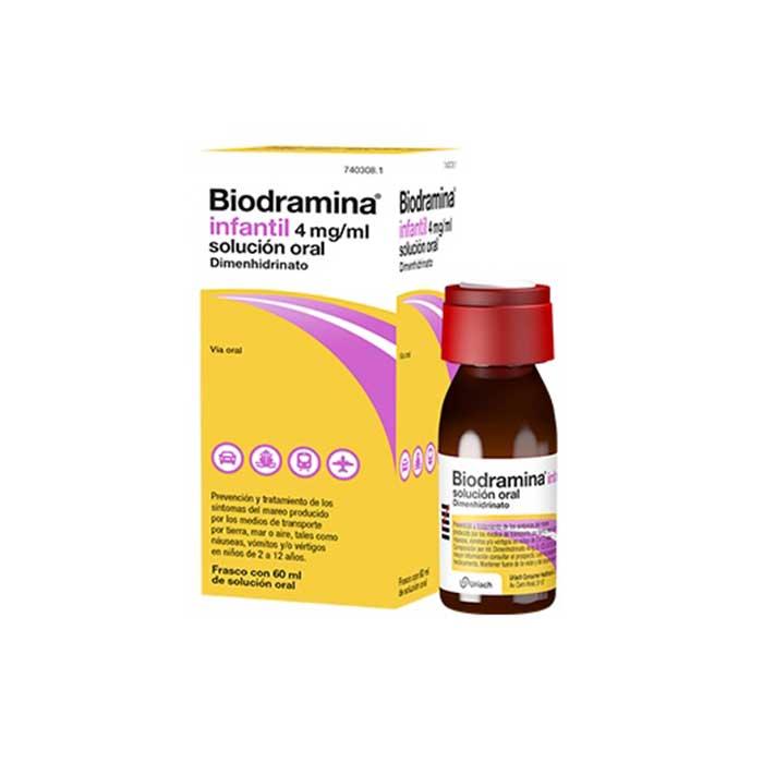 Biodramina Infantil Solucion Oral 60 ml