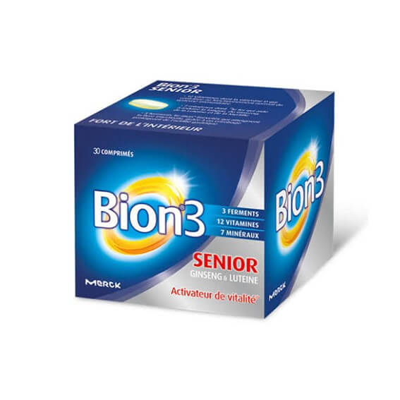 Bion3 Senior Ginseng y Luteina 30 Comprimidos