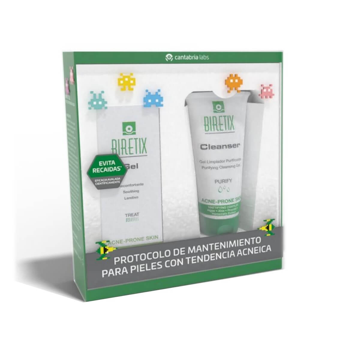 Biretix Pack Gel 50ml + Cleanser 150ml
