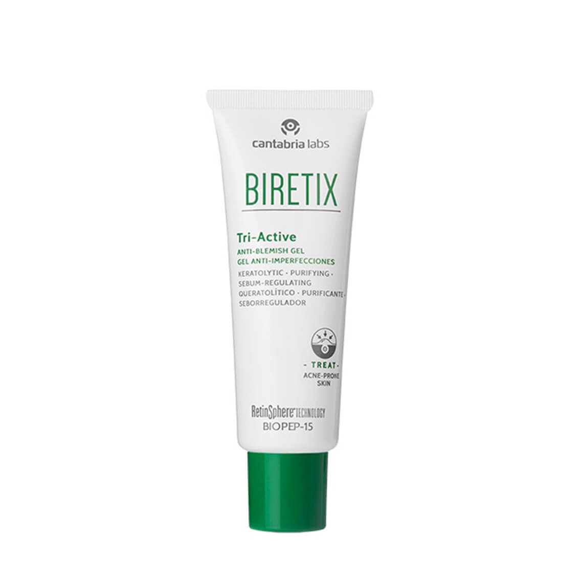 Biretix Tri-Active Gel Anti Imperfecciones 50 ml