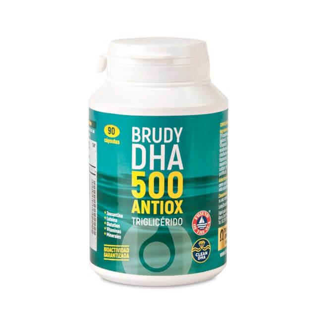Brudy Dha 500mg Antiox Triglicerido 90 Capsulas
