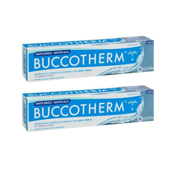 Buccotherm Duplo Pasta Anticaries 75ml+75ml