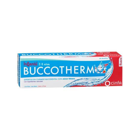 Buccotherm Gel Dental Infantil 2-6 Años 50ml