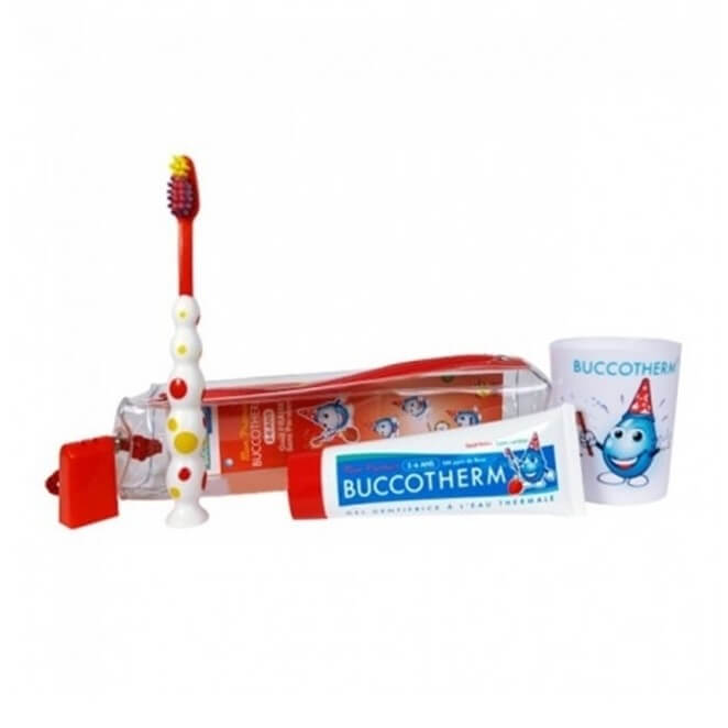 Buccotherm Kit Dental Infantil Pasta 50 ml + Cepillo + Vaso