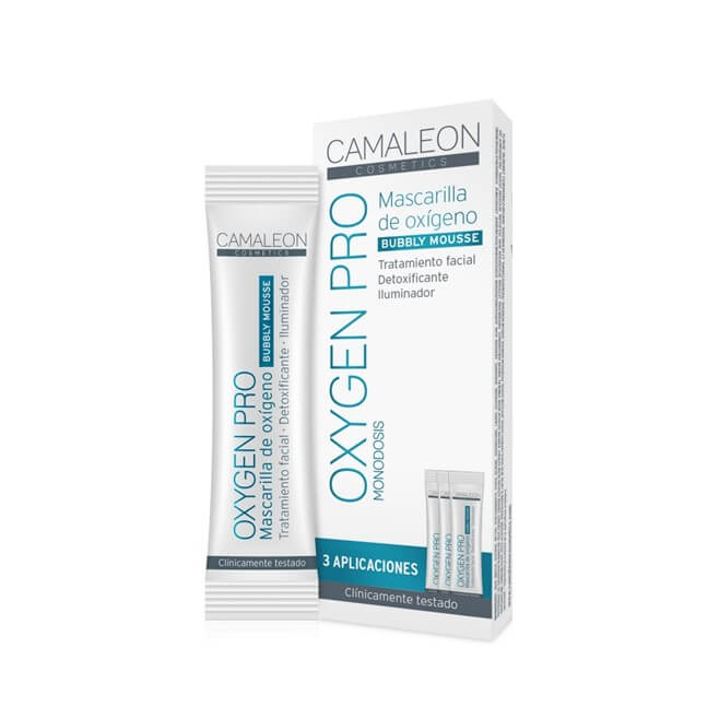 Camaleon Oxygen Pro Mascarilla de Oxigeno 3 Monodosis