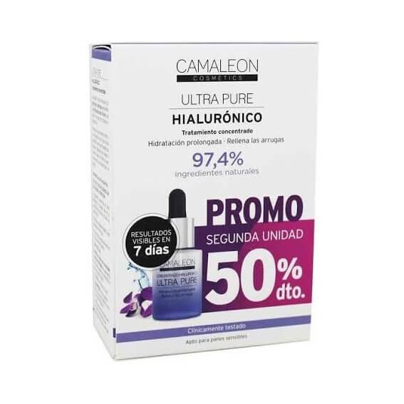 Camaleon Concentrado Hialuronico Ultra Pure Duplo 15ml+15ml