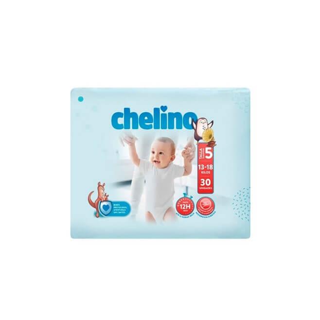 Pañal Chelino Talla 5 (13-18 Kg) 30 Unidades