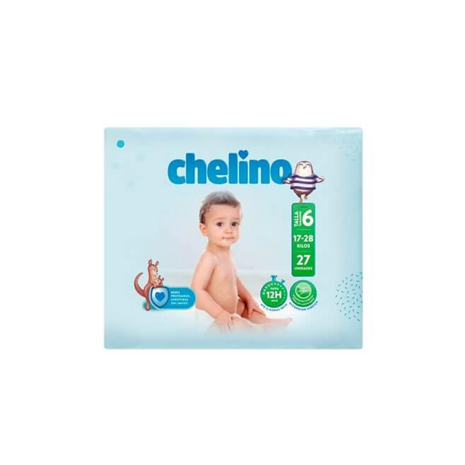 Pañal Chelino Talla 6 (17-28 Kg) 27 Unidades