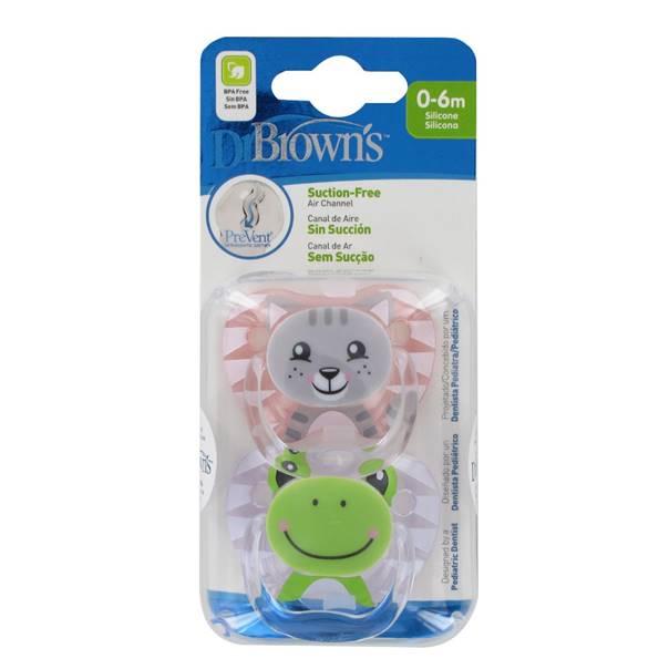 Chupete prevent silicona 0-6 meses niña