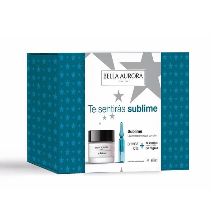 Bella Aurora Pack Sublime Crema Dia 50ml + Sublime 10 ampollas Oxigeno Colageno