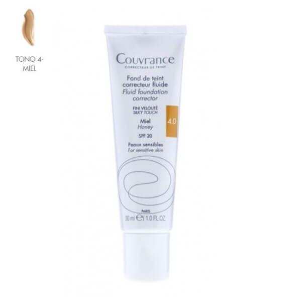 Avene Couvrance Maquillaje Fluido Miel 30 ml