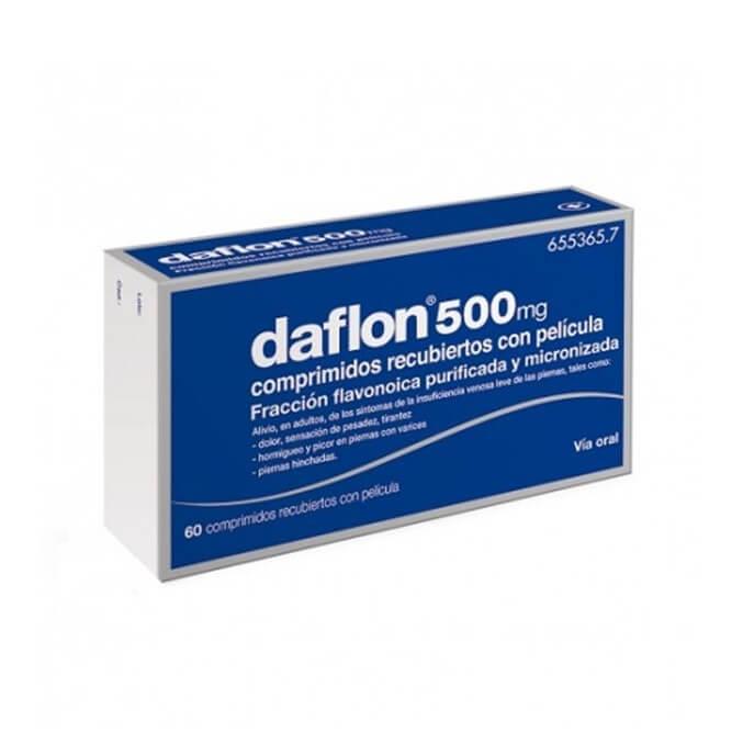 Daflon 500mg 60 Comprimidos