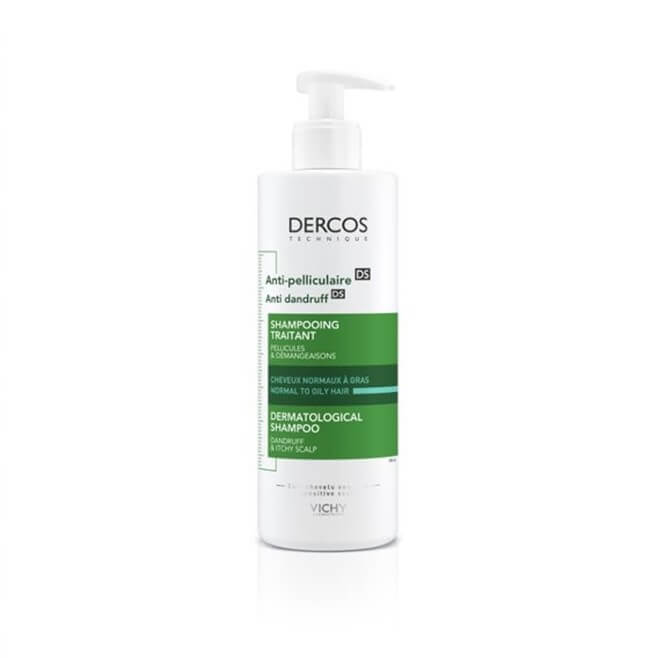 Dercos Champu Anticaspa Cabello Normal Graso 390ml