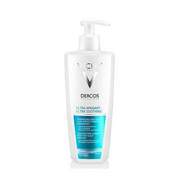 Dercos champu ultracalmante cabello seco 390ml