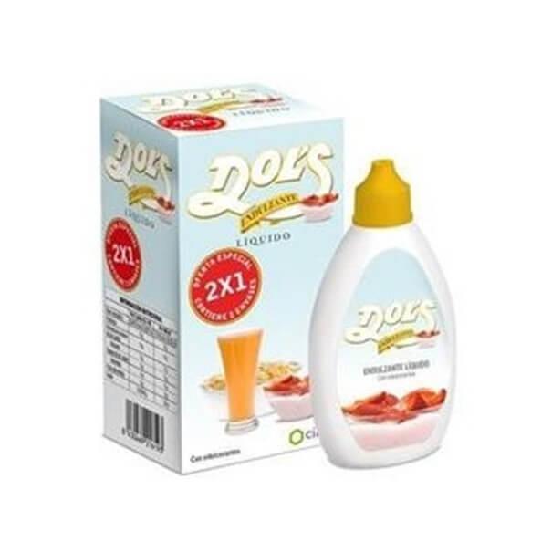 Dols endulzante liquido duplo 75+75 ml