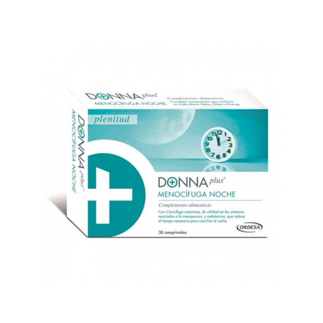 Donnaplus Menocifuga Noche 30 Comprimidos