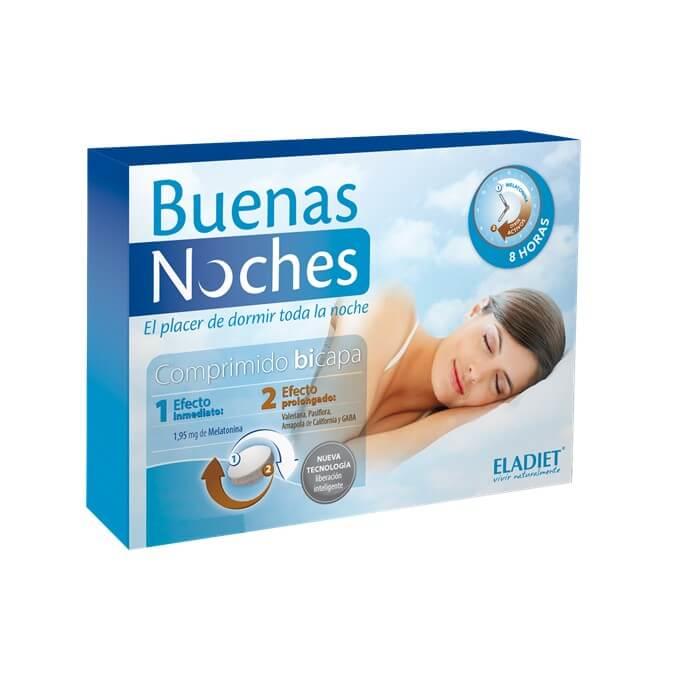 Eladiet Buenas Noches 60 Comprimidos Bicapa