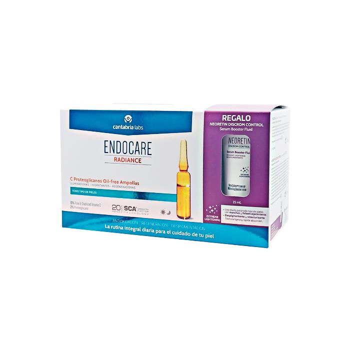 Endocare Radiance C Proteoglicanos Oil-free Ampollas 30x2ml + Regalo Serum Despigmentante 15ml