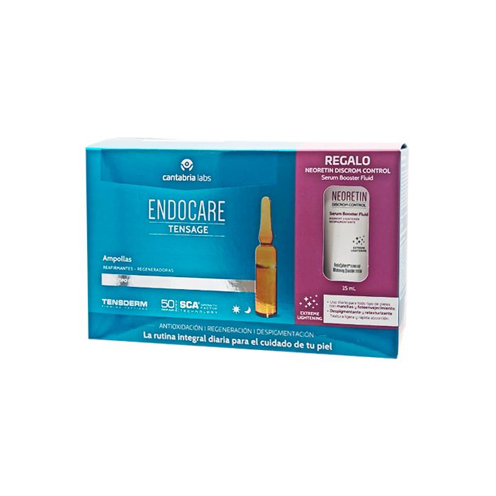 Endocare Tensage Ampollas 20x2ml + Regalo Serum Despigmentante 15ml
