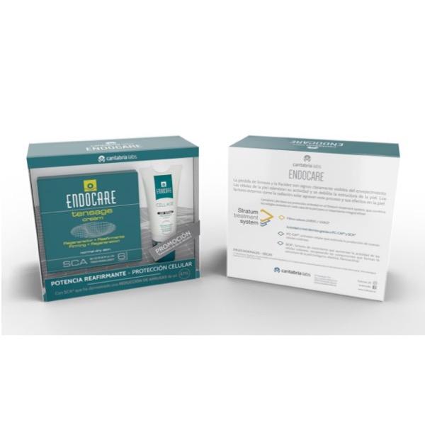 Endocare tensage cream 50ml + Endocare cellage day spf30 15ml de regalo