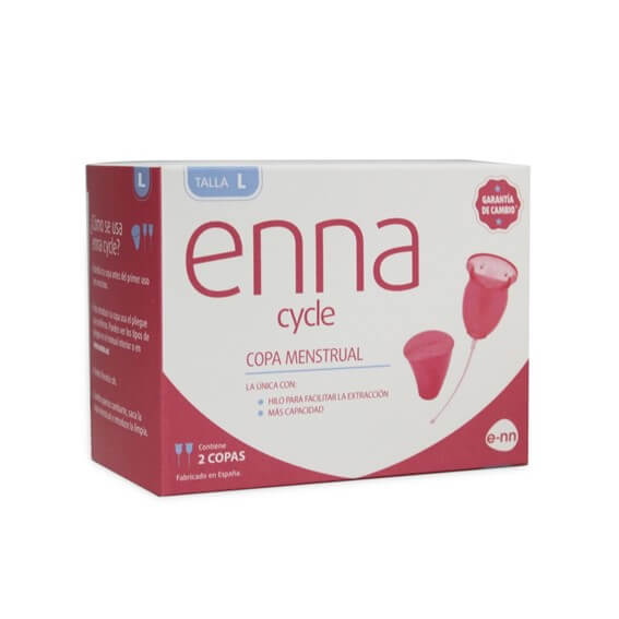 Enna Cycle Copa Menstrual Talla l 2 Uds