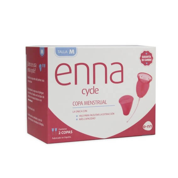 Enna Cycle Copa Menstrual Talla M 2 Uds