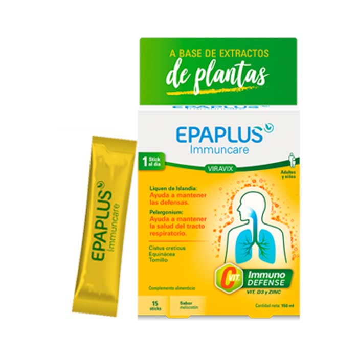 Epaplus Immuncare Viravix 15 Sticks Liquidos